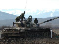 Россия наращивает интенсивность боевой подготовки