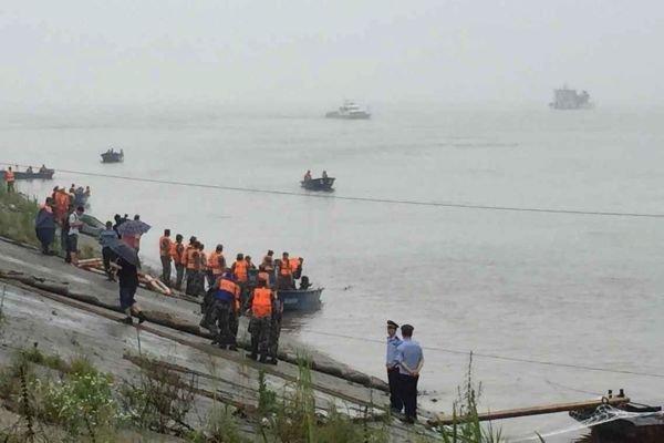 Катастрофа на реке Янцзы