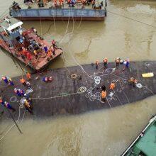 Число погибших при крушении судна в КНР выросло до 75 человек