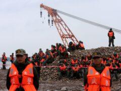 В Китае установлены личности 441 жертвы крушения теплохода
