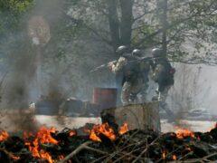 МВД: около 140 белорусов участвуют в боевых действиях в Украине