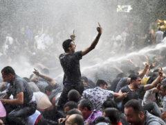 В Ереване проходит многочисленная акция протеста