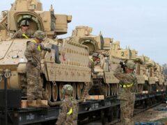 Литва примет тяжелую военную технику США