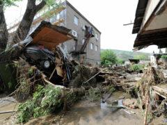 В Грузии 15 июня — день траура по жертвам наводнения
