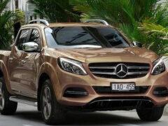 Mercedes в 2018 году выпустит роскошный пикап