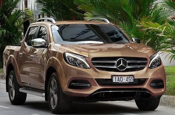Mercedes пикап