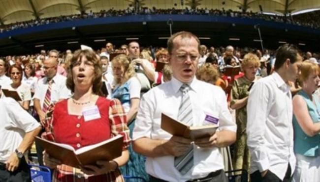 молебен свидетели Иеговы