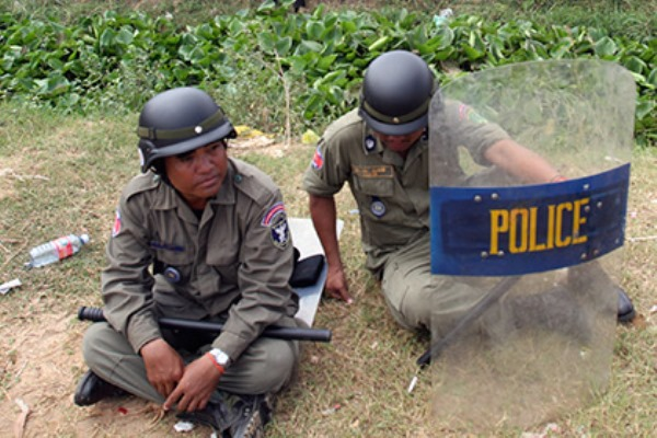 полиция Камбоджи