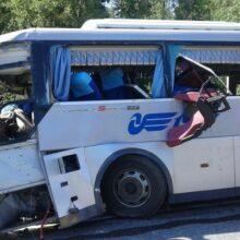 В Красноярск отправлены самолетом 10 пострадавших в крупном ДТП с автобусом