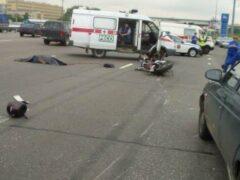 В Сочи погибли байкер и его пассажир в ДТП в районе Пластунки