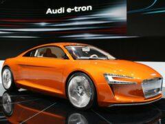 Электрокар Audi Q6 e-tron позаимствует силовую установку у суперкара Audi R8 e-tron