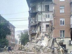 В Перми обрушился подъезд жилого дома