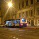 Петербург: на пустой Кадетской линии иномарка столкнулась с троллейбусом
