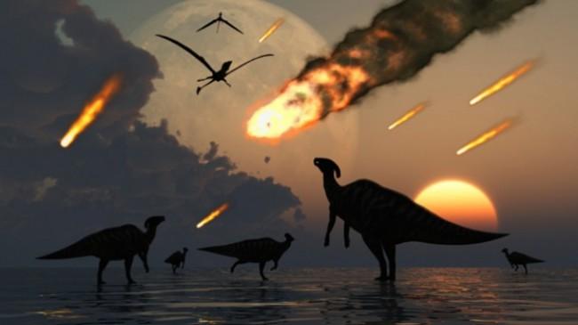 метеорит динозавр