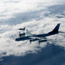 Стратегический бомбардировщик Ту-95МС рухнул в Хабаровском крае