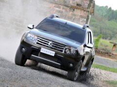 ТОП-10 самых популярных SUV в России возглавил Renault Duster