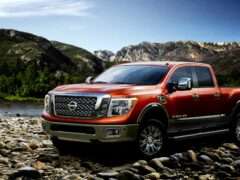 Nissan предложит для пикапа Titan 2016 бензиновые версии