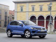 Россия: до конца лета снижены цены на Volkswagen Touareg
