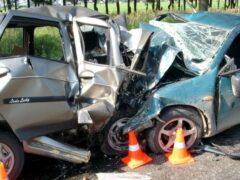 Три человека стали жертвами взрыва такси в лобовом столкновении под Одессой
