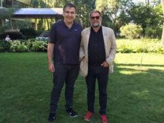 Борис Гребенщиков после концертов встретился с Саакашвили