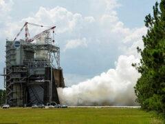 NASA испытало новый ракетный двигатель для полета на Марс