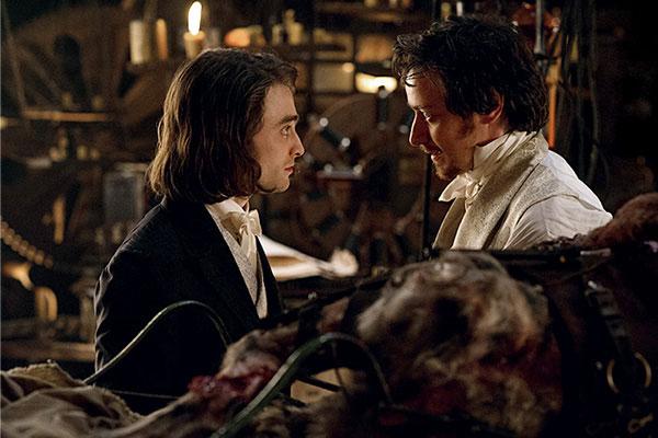 Дэниел Рэдклифф и Джеймс МакЭвой в первом трейлере «Франкенштейна»