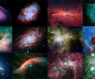 фотографии телескопа «Спитцер»