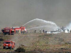 Под Рязанью разбился Ми-28 пилотажной группы «Беркуты»