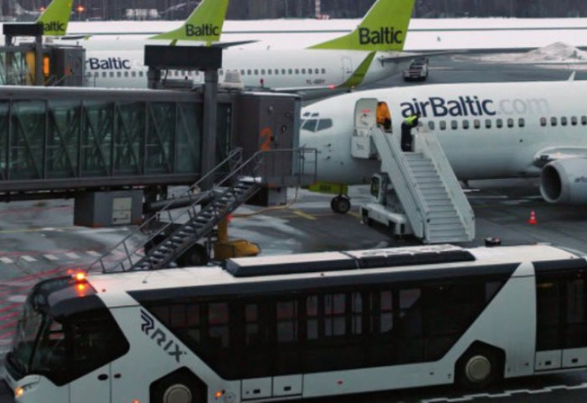 самолет Балтик