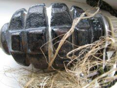 Боевую гранату и героин нашли у отдыхающих на турбазе в Рудном