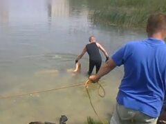 На Васильевском острове выловили безногого утопленника