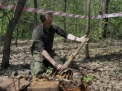 На Урале обнаружен бомбардировщик времен ВОВ