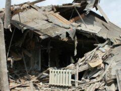 Силовики обстреливают жилые дома в Петровском районе Донецка
