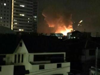взрывы в Японии