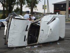 Трое детей и трое взрослых госпитализированы после ДТП в Ставрополе