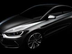 Hyundai представила первый тизер новой Elantra