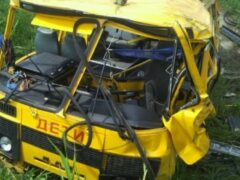 У владельца автобуса, разбившегося под Хабаровском, выявили 30 нарушений