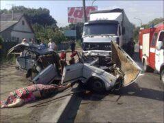 Пензенская область: при столкновении фуры и автомобиля погибли пять человек