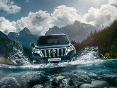 Toyota начала продажи нового Land Cruiser Prado в РФ