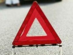 Mercedes и пассажирский автобус столкнулись под Красноярском