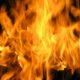 В Петербурге на Канонерском острове сгорели три грузовика