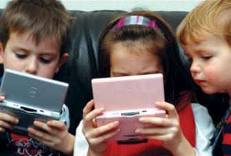 дети смартфоны