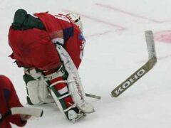 На турнире в Пинске юные хоккеисты устроили массовую драку