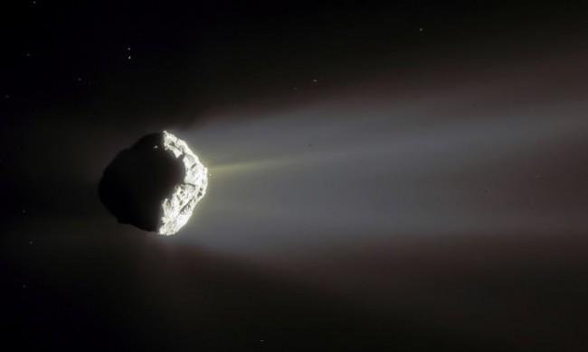 выброс газа, комета Чурюмова-Герасименко