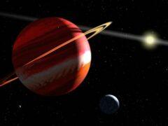 Обнаружена новая экзопланета, похожая на молодой Юпитер