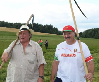 Депардье Лукашенко Беларусь