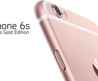 iPhone цвета Rose Gold