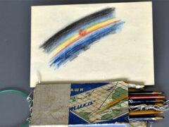 На выставке в Лондоне будет показан первый космический рисунок