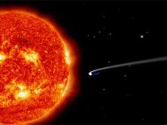 Обсерватория, наблюдающая за Солнцем, обнаружила трехтысячную комету