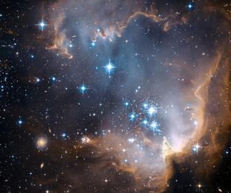 яркие галактики